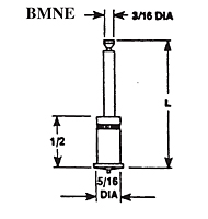 Bi-Metallic Capacitor Discharge (CD) Notched End, Weld Stud