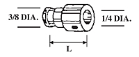 Capacitor Discharge (CD) Collet Adapters
